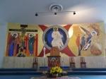 Salón de catequesis de la casa de convivencias