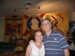 Mi esposa Paty y un servidor.