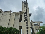 El imponente templo votivo de Guanare.