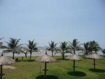 Frente al Mar Caribe
